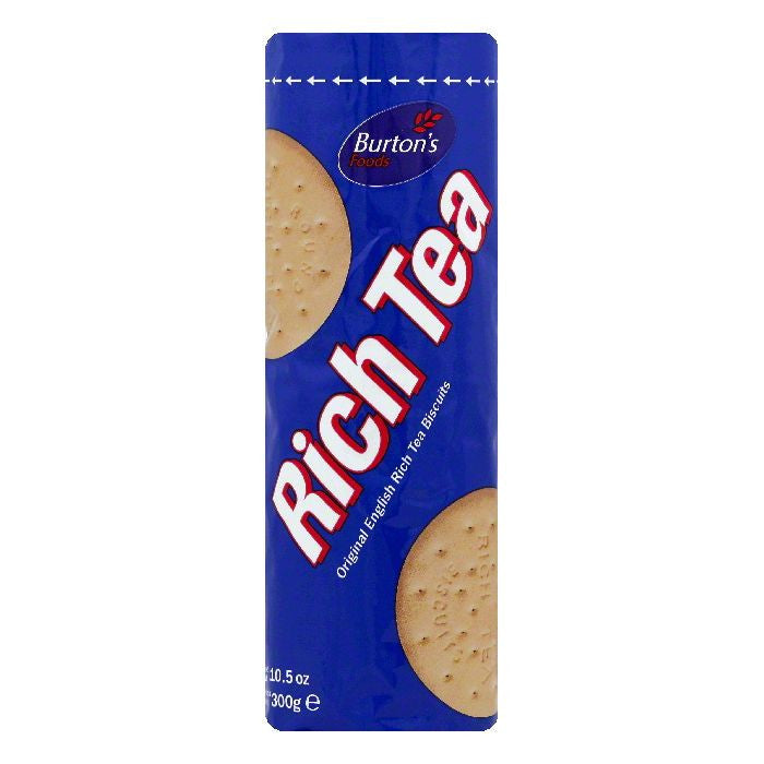 Burtons Rich Tea Biscuits, 10.5 OZ (Pack of 12)