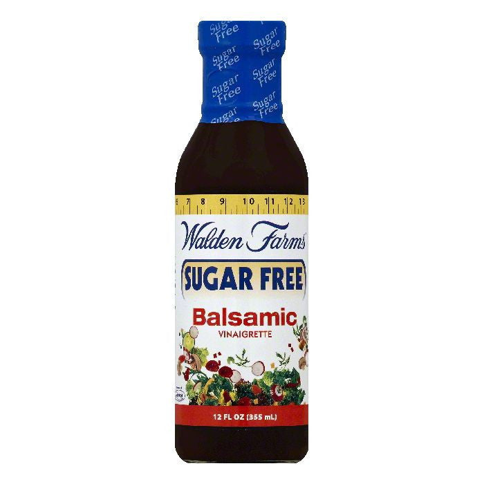 Walden Farms Sugar Free Balsamic Vinaigrette, 12 OZ (Pack of 6)