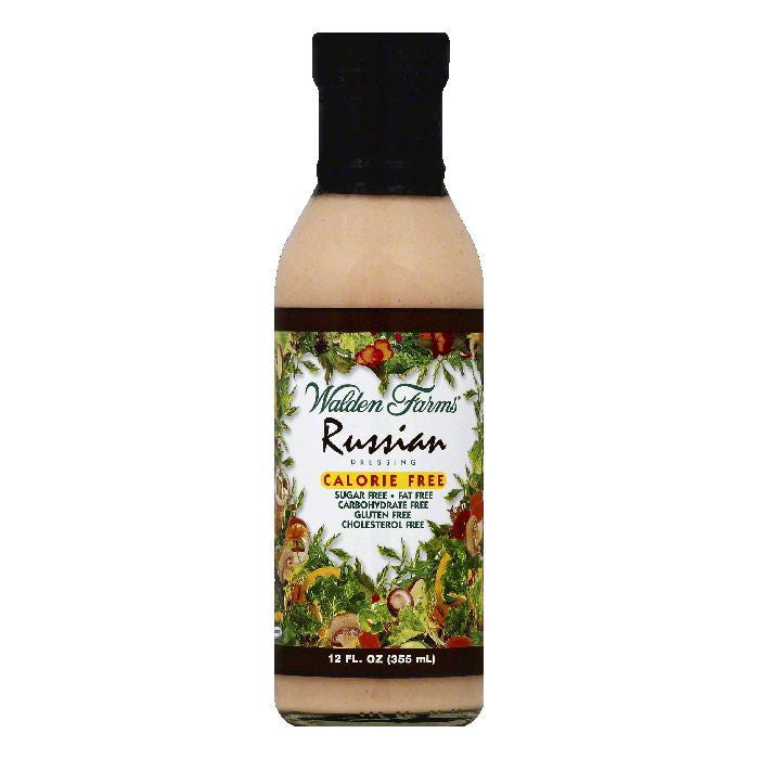 Walden Farms Russian Dressing, 12 OZ (Pack of 6)