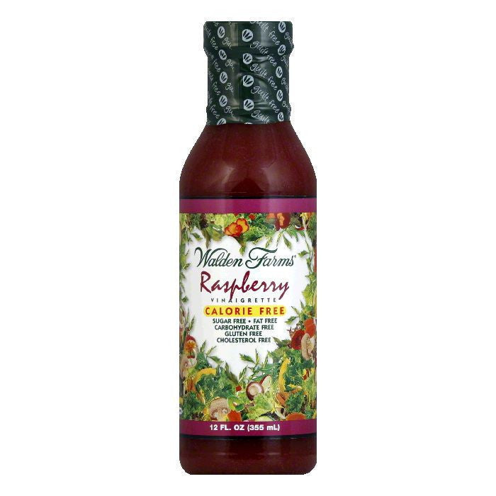 Walden Farms Salad Dressing Raspberry Sugar & Calorie Free No Carb, 12 OZ (Pack of 6)