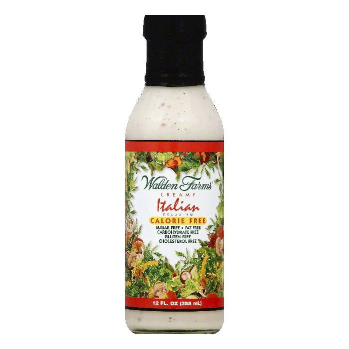 Walden Farms Creamy Italian Dressing, 12 OZ (Pack of 6)