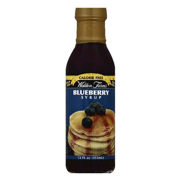 Walden Farms Blueberry Syrup, 12 OZ (Pack of 6)