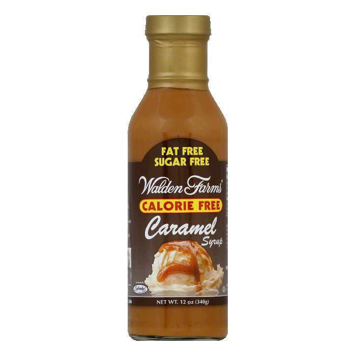 Walden Farms Caramel Syrup, 12 OZ (Pack of 6)