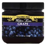 Walden Farms Grape Fruit Spread, 12 OZ (Pack of 6)