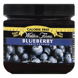 Walden Farms Blueberry Fruit Spread, 12 OZ (Pack of 6)