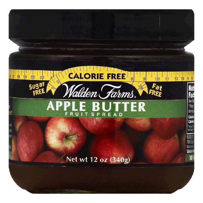 Walden Farms Apple Butter Fruit Spread, 12 OZ (Pack of 6)