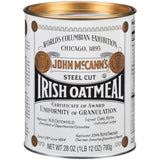 John Mcn's Steel Cut Irish Oatmeal 28 oz (Pack of 12)