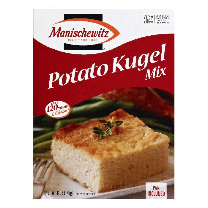 Manischewitz Potato Kugel Mix, 6 OZ (Pack of 6)