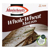Manischewitz Whole Wheat Matzos, 10 OZ (Pack of 12)