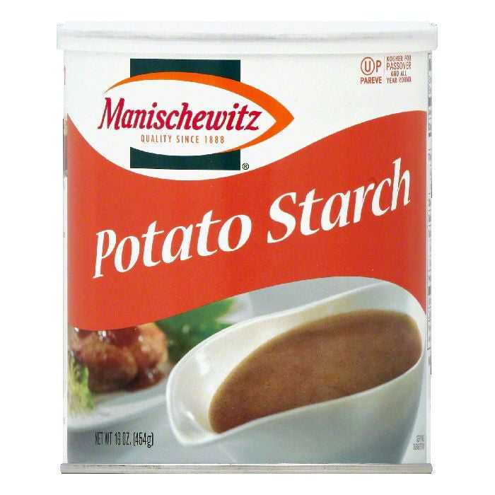 Manischewitz Potato Starch, 16 OZ (Pack of 12)