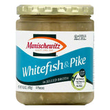 Manischewitz in Jelled Broth Whitefish & Pike, 4 ea (Pack of 6)