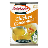 Manischewitz Chicken Condensed Consomme, 10.5 OZ (Pack of 12)