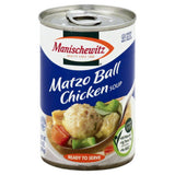 Manischewitz Matzo Ball Chicken Ready to Serve Soup, 14 Oz (Pack of 12)