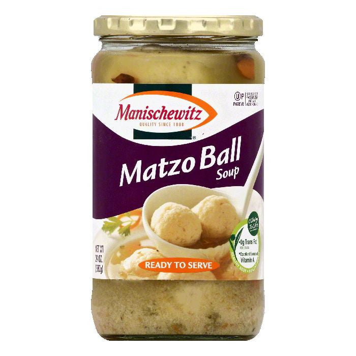 Manischewitz Matzo Ball Soup, 24 OZ (Pack of 12)