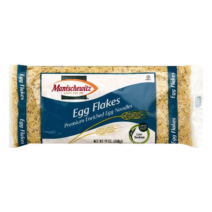 Manischewitz Egg Flakes, 12 OZ (Pack of 12)