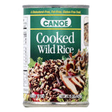 Canoe Cooked Wild Rice, 15 OZ (Pack of 12)