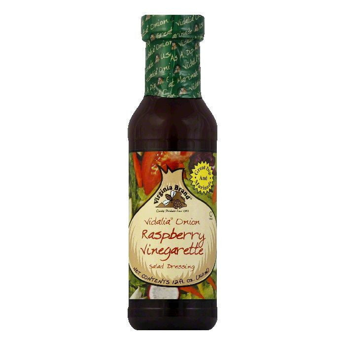 Virginia Vidalia Onion Raspberry Vinaigrette, 12 OZ (Pack of 6)