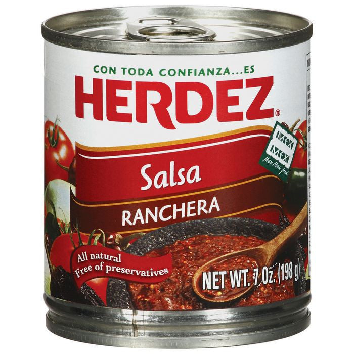 Herdez Ranchera Salsa 7 Oz  (Pack of 12)