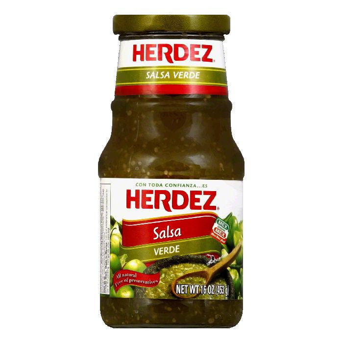 Herdez Salsa Verde, 16 OZ (Pack of 12)