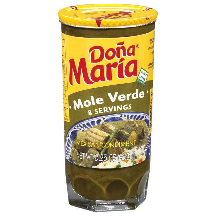 Dona Maria Mole Verde Sauce 8.25 Oz  (Pack of 12)