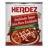Herdez Med Red Chili Enchilada Sauce, 28 Oz (Pack of 12)
