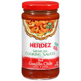 Herdez Red Guajillo Chilie Mexi Cooking Sauce 12 Oz  (Pack of 6)