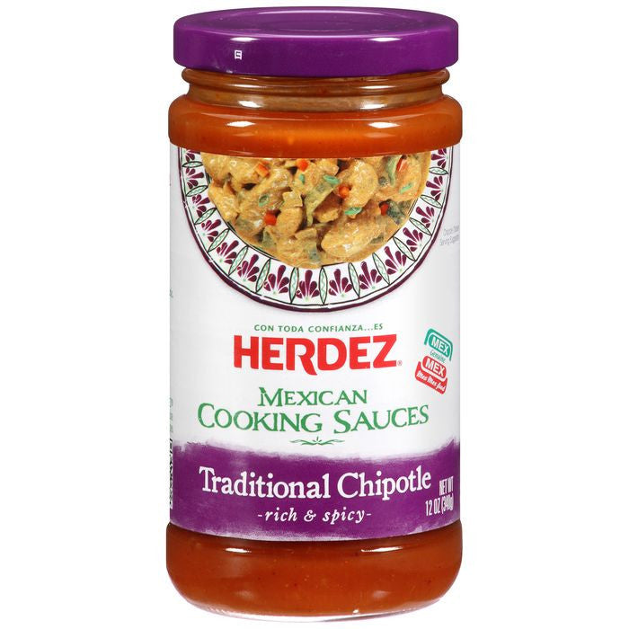 Herdez Traditional Chipotle Mexi Cooking Sauce 12 Oz  (Pack of 6)