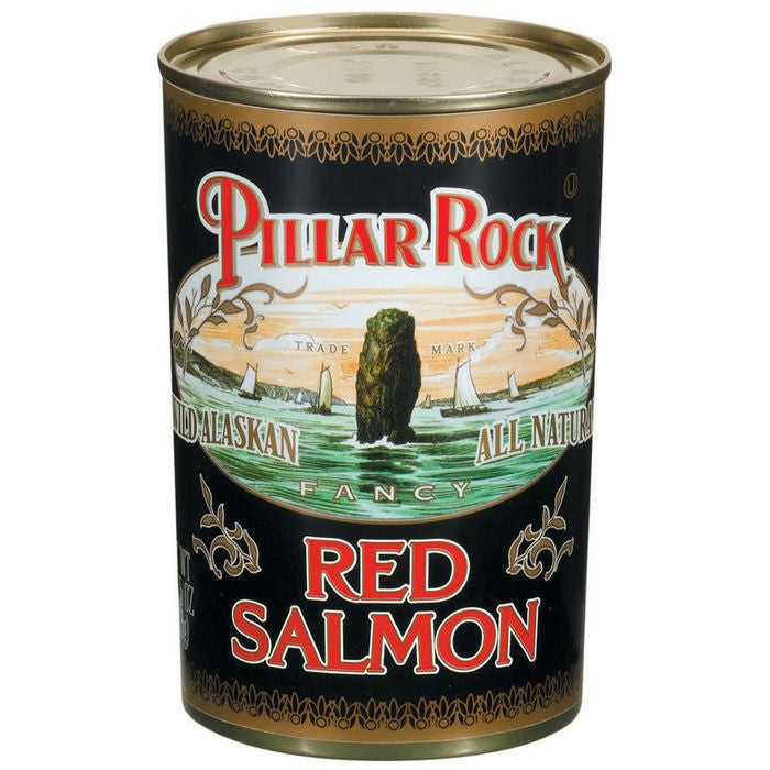 Pillar Rock Fancy Wild Alaskan Red Salmon 14.75 Oz  (Pack of 12)