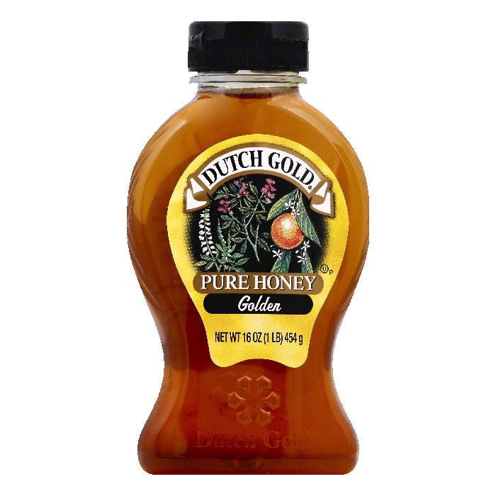 Dutch Gold Golden Pure Honey, 16 OZ (Pack of 6)