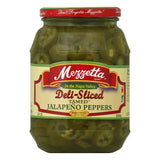 Mezzetta Tamed Deli Sliced Jalapeno Peppers, 32 OZ (Pack of 6)
