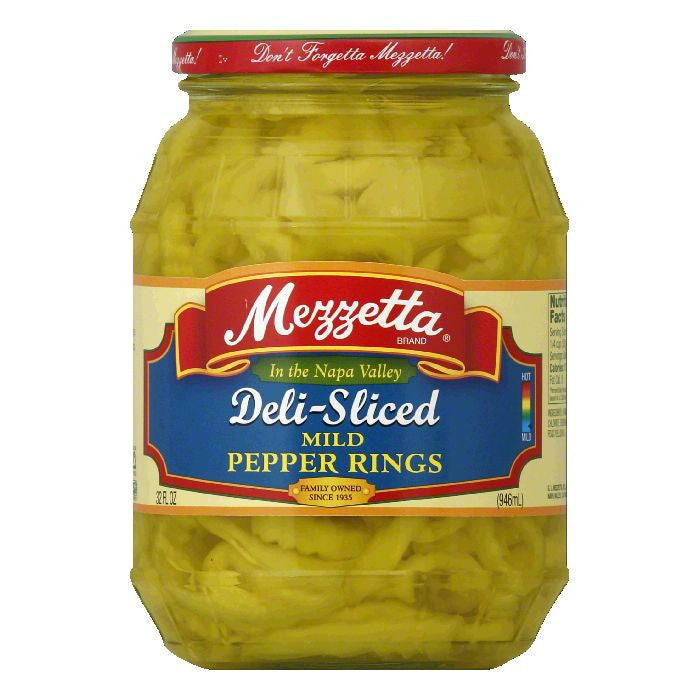 Mezzetta Sweet Banana Wax Peppers, 32 OZ (Pack of 6)
