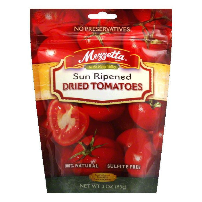 Mezzetta Sun Dried Tomatoes, 3 OZ (Pack of 12)