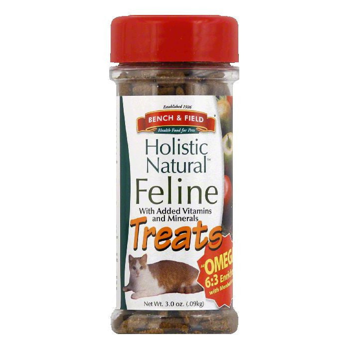 Bench & Field Feline Treats, 3 Oz (Pack of 24)