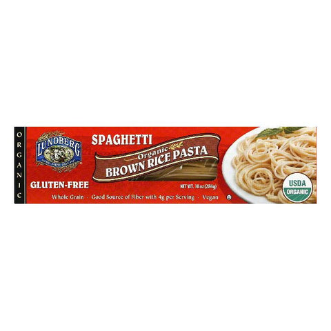 Lundberg Organic Brown Rice Spaghetti, 10 OZ (Pack of 6)