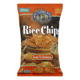 Lundberg Gluten Free Rice Chips Santa Fe Barbecue, 6 OZ (Pack of 12)