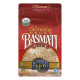 Lundberg Gluten Free Rice Organic California Basmati Brown, 32 OZ (Pack of 6)