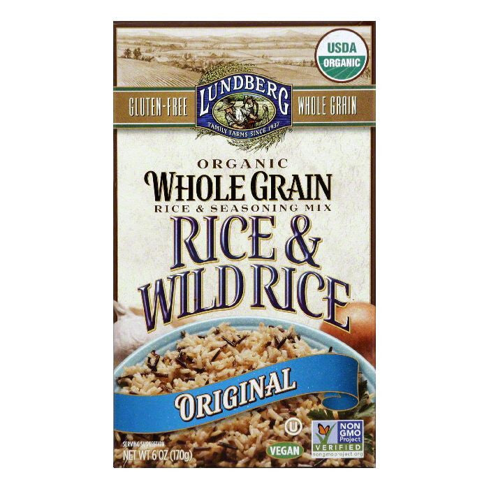 Lundberg Original Rice & Seasoning Mix, 6 Oz (Pack of 6)