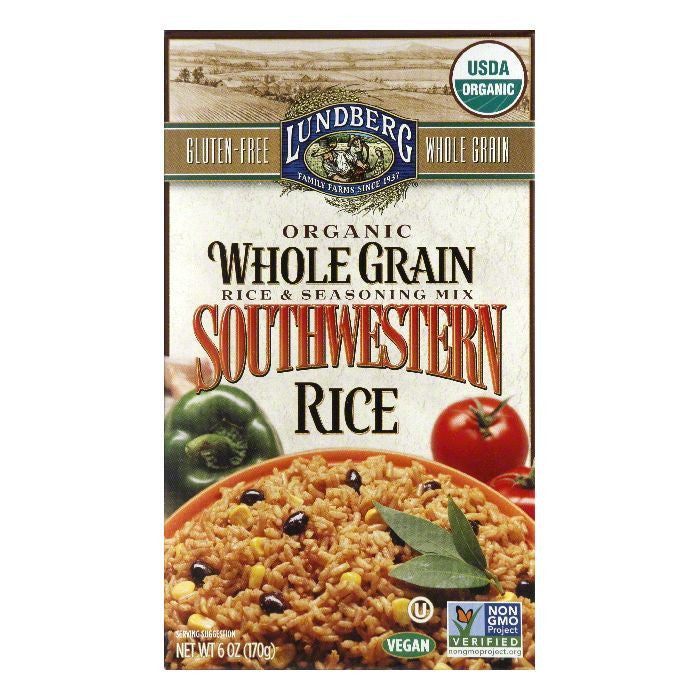 Lundberg Southwestern Rice, 6 Oz (Pack of 6)
