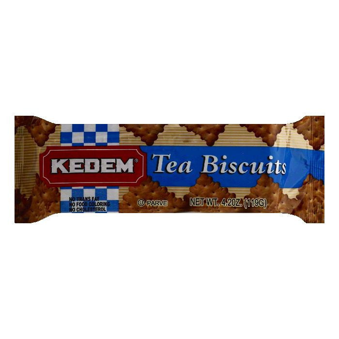 Kedem Tea Biscuits, 4.2 OZ (Pack of 24)