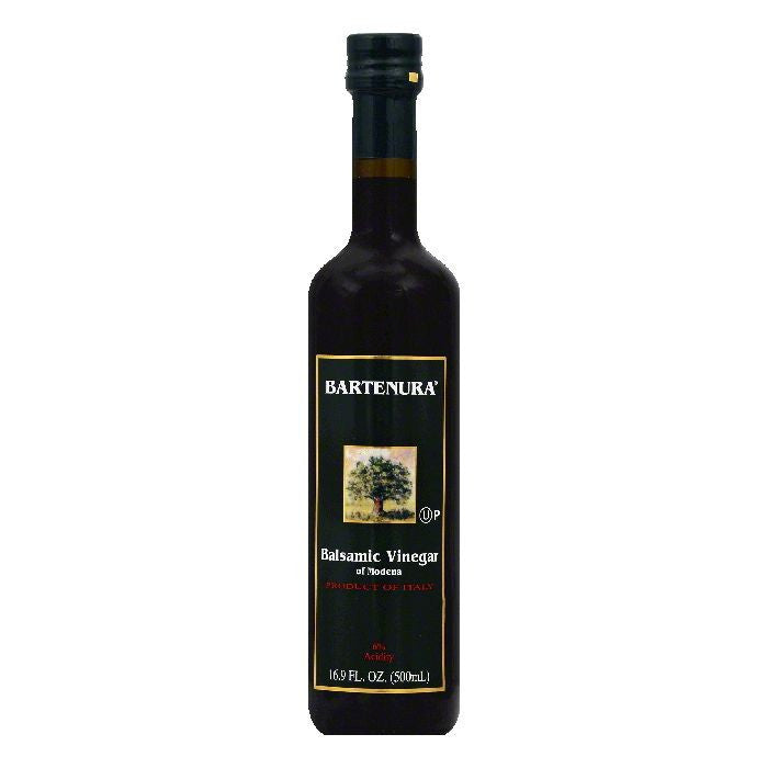 Bartenura of Modena Balsamic Vinegar, 16.9 OZ (Pack of 6)