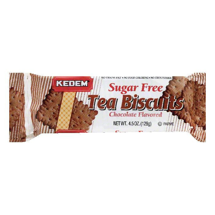 Kedem Chocolate Flavored Sugar Free Tea Biscuits, 4.5 OZ (Pack of 24)