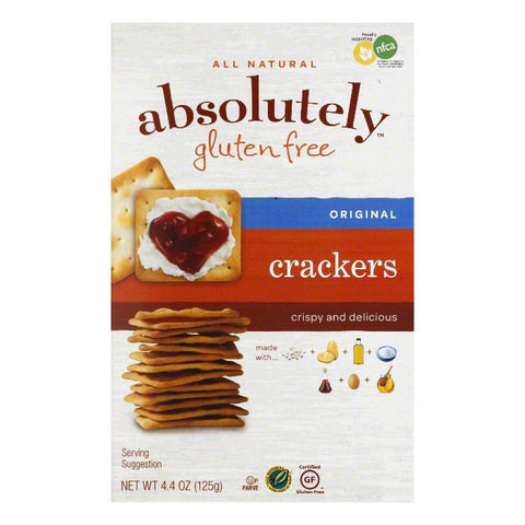 Absolutely Gluten Free Original Crackers, 4.4 OZ (Pack of 12)