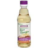 Nakano Seasoned Roasted Garlic  Rice Vinegar 12 Oz   (Pack of 6)