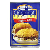Cincinnati Recipe Chili with Meat, 15 OZ (Pack of 12)