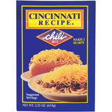 Cincinnati Recipe  Chili Mix 2.25 Oz Packet (Pack of 24)