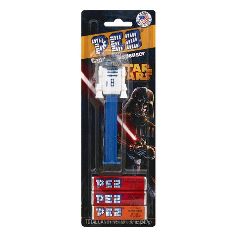 PEZ Star Wars Candy & Dispenser, 1 ea (Pack of 6)