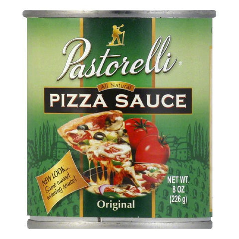 Pastorelli Pizza Sauce Italian Chef, 8 OZ (Pack of 12)