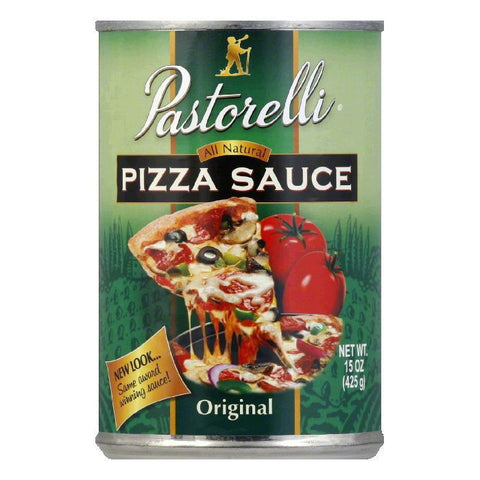 Pastorelli Pizza Sauce Italian Chef, 15 OZ (Pack of 12)