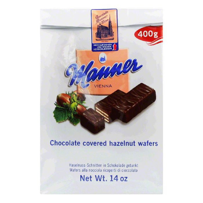 Manner Mignon Wafer, 14 OZ (Pack of 10)