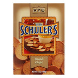 Win Schuler Natural Rye Bar-Schips, 7 OZ (Pack of 12)